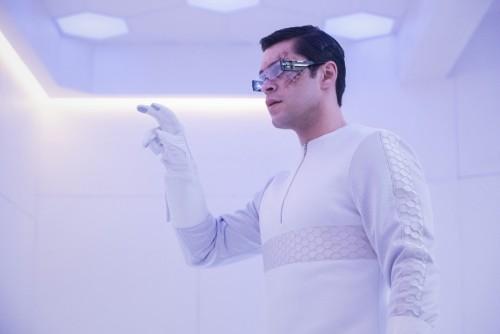 "The 100 -- ""Etherea"" -- Image Number: HU710A_0389r.jpg -- Pictured: Jason Diaz as Levitt -- Photo: D"