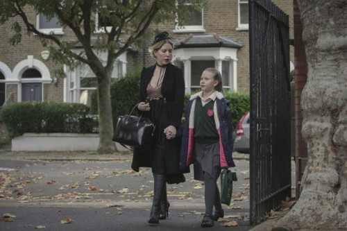 The Duchess Season 1. Katherine Ryan as Katherine in episode 2 of Duchess Season 1. Cr. Simon Ridgwa