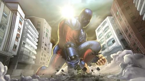 black adam movie concept art atom smasher