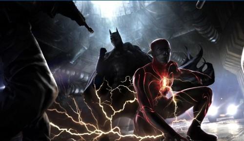 the flash concept art michael keaton batman hi res 1