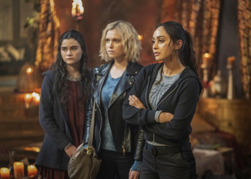 "The 100 -- ""Blood Giant"" -- Image Number: HU711B_0434r.jpg -- Pictured (L-R): Lola Flanery as Madi,"