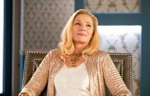 "FILTHY RICH: Kim Cattrall in the ""Psalm 25:3"" episode of FILTHY RICH airing Monday, Oct. 5 (9:00-10:"