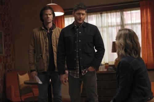 """Supernatural -- """"Drag Me Away (From You)"""" -- Image Number: SN1516A_0190r.jpg -- Pictured (L-R): Jare"""
