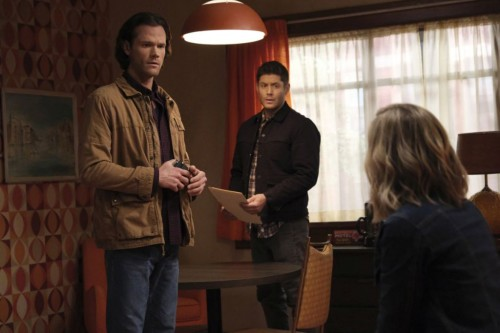 """Supernatural -- """"Drag Me Away (From You)"""" -- Image Number: SN1516A_0193r.jpg -- Pictured (L-R): Jare"""