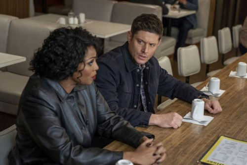 "Supernatural -- ""Drag Me Away (From You)"" -- Image Number: SN1516B_0765r.jpg -- Pictured (L-R): Lisa"