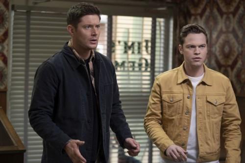 """Supernatural -- """"Unity"""" -- Image Number: SN1517B_0207r.jpg -- Pictured (L-R): Jensen Ackles as Dean"""