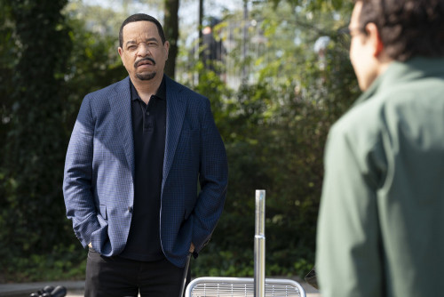 "LAW & ORDER: SPECIAL VICTIMS UNIT -- ""Remember Me In Quarantine"" Episode 22001 -- Pictured: Ice T as"