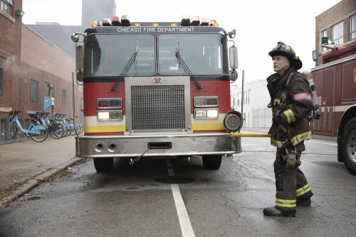 """CHICAGO FIRE -- """"Smash Therapy"""" Episode 903 -- Pictured: Randy Flagler as Capp -- (Photo by: Adrian"""