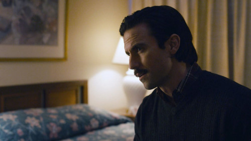 """THIS IS US -- """"There"""" Episode 507 -- Pictured in this screengrab: Milo Ventimiglia as Jack -- (Photo"""