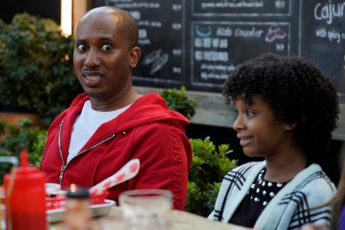 """KENAN -- """"Hard News"""" Episode 101 -- Pictured: (l-r) Chris Redd as Gary, Dani Lane as Aubrey -- (Phot"""