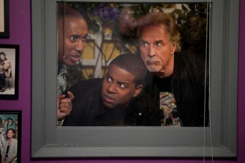 "KENAN -- ""Hard News"" Episode 101 -- Pictured: (l-r) Chris Redd as Gary, Kenan Thompson as Kenan, Don"