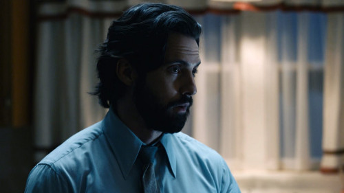 """THIS IS US -- """"I've Got This"""" Episode 510 -- Pictured in this screengrab: Milo Ventimiglia as Jack -"""