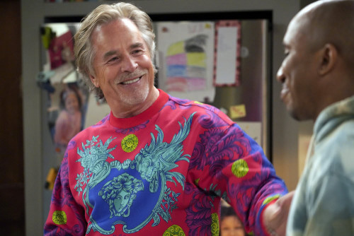 "KENAN -- ""Wednesday's Gal"" Episode 109 -- Pictured: (l-r) Don Johnson as Rick, Chris Redd as Gary --"