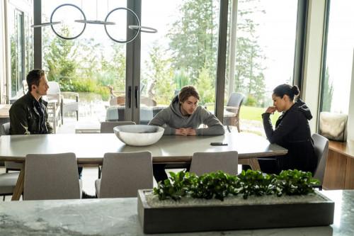 "DEBRIS -- ""Do You Know Icarus"" Episode: 109 -- Pictured: (l-r) Jonathan Tucker as Bryan Beneventi, K"