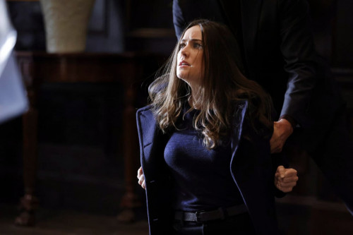 """THE BLACKLIST -- """"The Russian Knot"""" Episode 815 -- Pictured: (l-r) -- (Photo by: Will Hart/NBC)"""