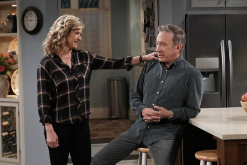 LAST MAN STANDING: L-R: Nancy Travis and Tim Allen in Keep On Truckin, Part Two of the two-part seri