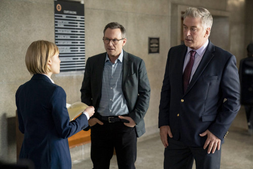 DR. DEATH -- Episode 106 -- Pictured: (l-r) AnnaSophia Robb as Michelle Shughart, Christian Slater a