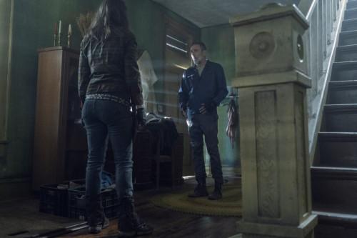 Lauren Cohan as Maggie Rhee, Jeffrey Dean Morgan as Negan - The Walking Dead _ Season 11, Episode 5